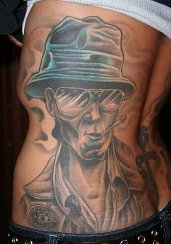 Greg B. Photo added Apr-23-06 tattoo. Greg's gonzo tattoo was done by by